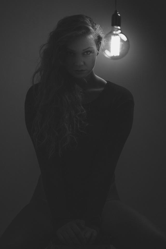 Mit Alena in Wilhelmshaven Porträtfotos gemacht