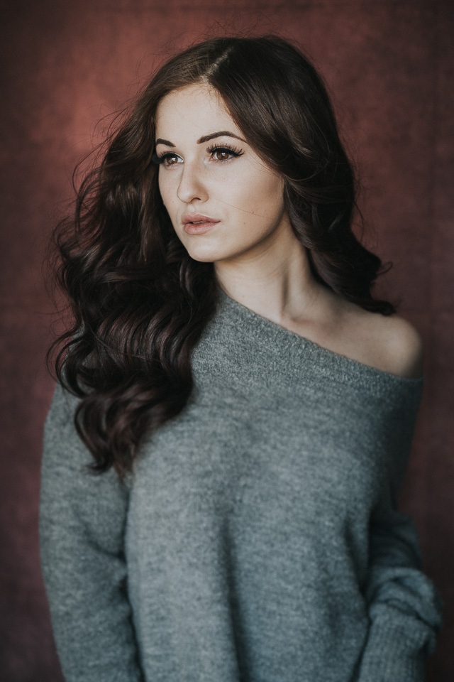 Porträt mit Fensterlicht (Michelle)