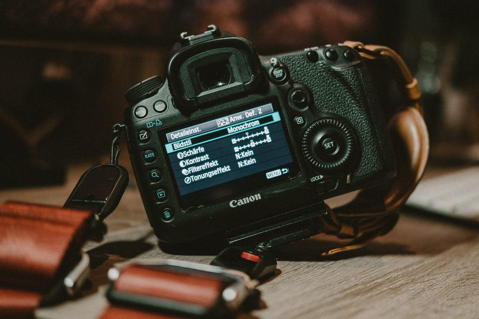 Mein Canon Picture Style für Schwarz/Weiß Fotos