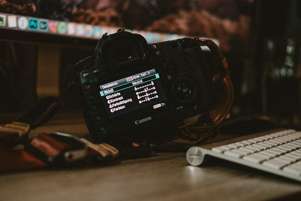 Mein Canon Picture Style für Farbfotos