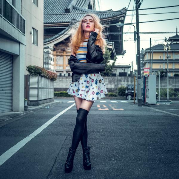 Porträtfotos mit fulan in tokio
