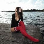 Mit Katy am Banter See in Wilhelmshaven