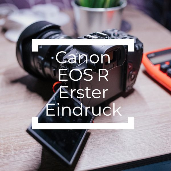 Canon EOS R Erster Eindruck