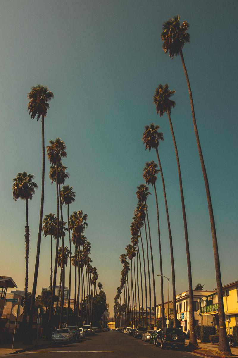 Straße in Los Angeles